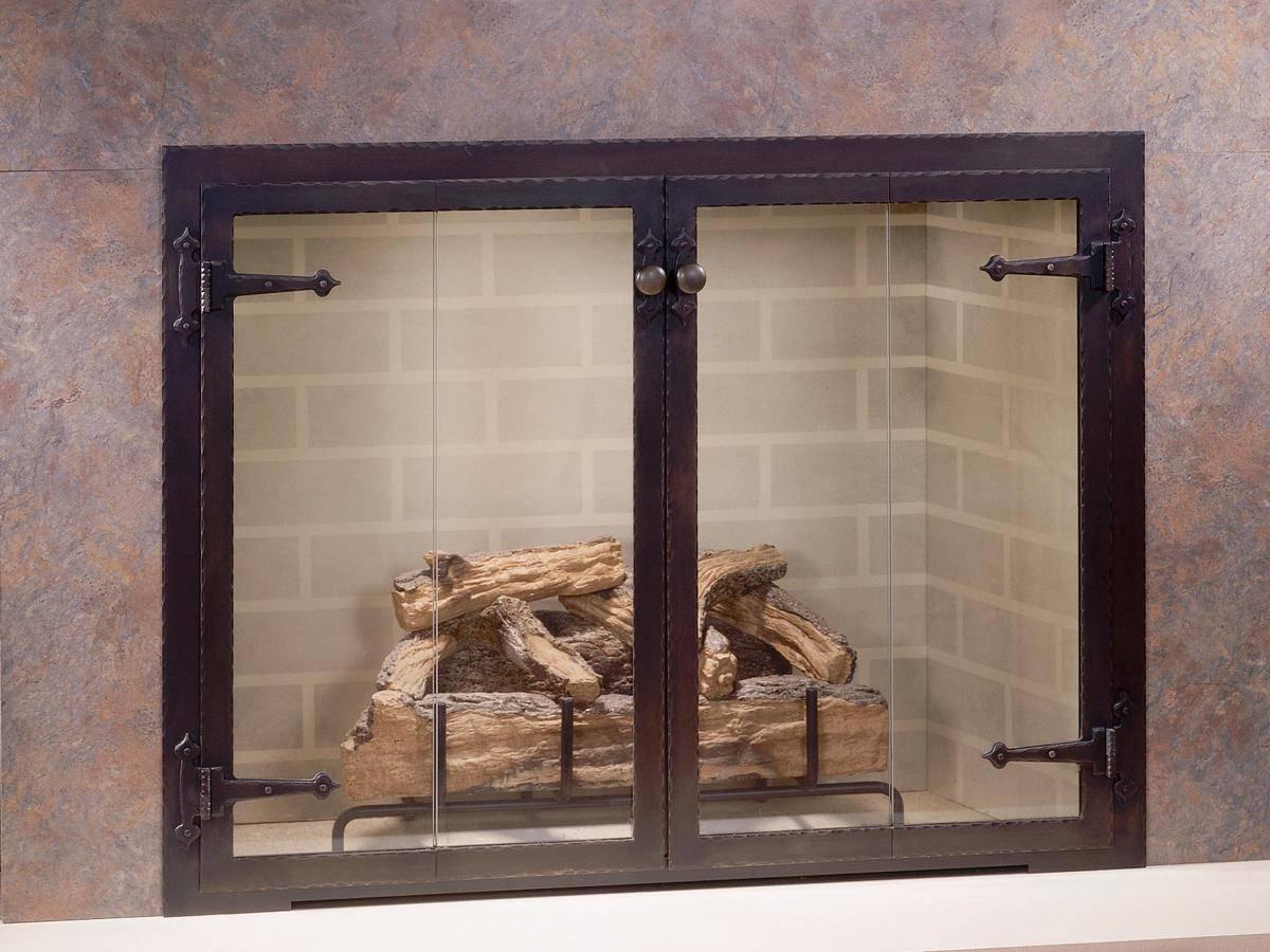 Как выбрать дверцу для печи со стеклом?