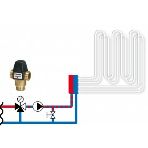 Функциональная роль термоголовки в системе теплого пола