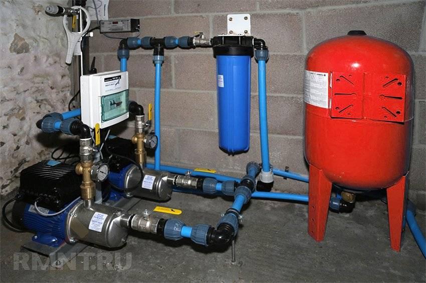Насосы для повышения давления воды: принцип действия и популярные модели