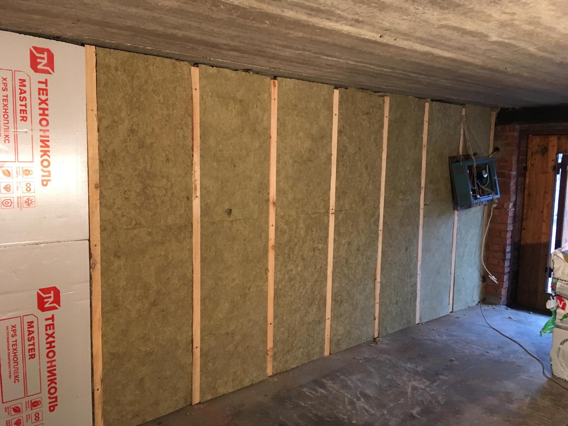 5 вариантов утепления гаража изнутри