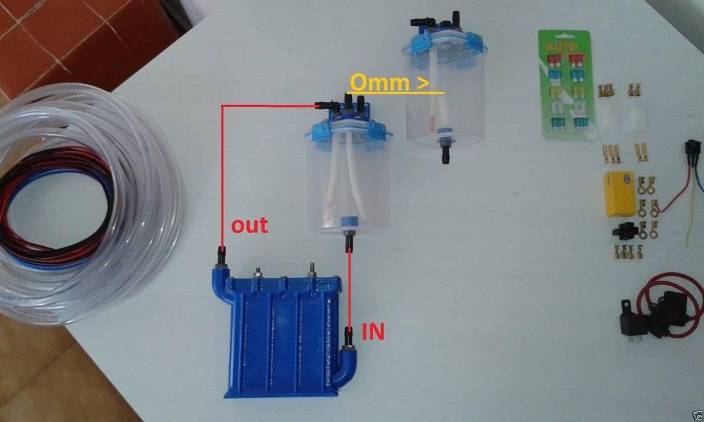 Генератор водорода для автомобиля