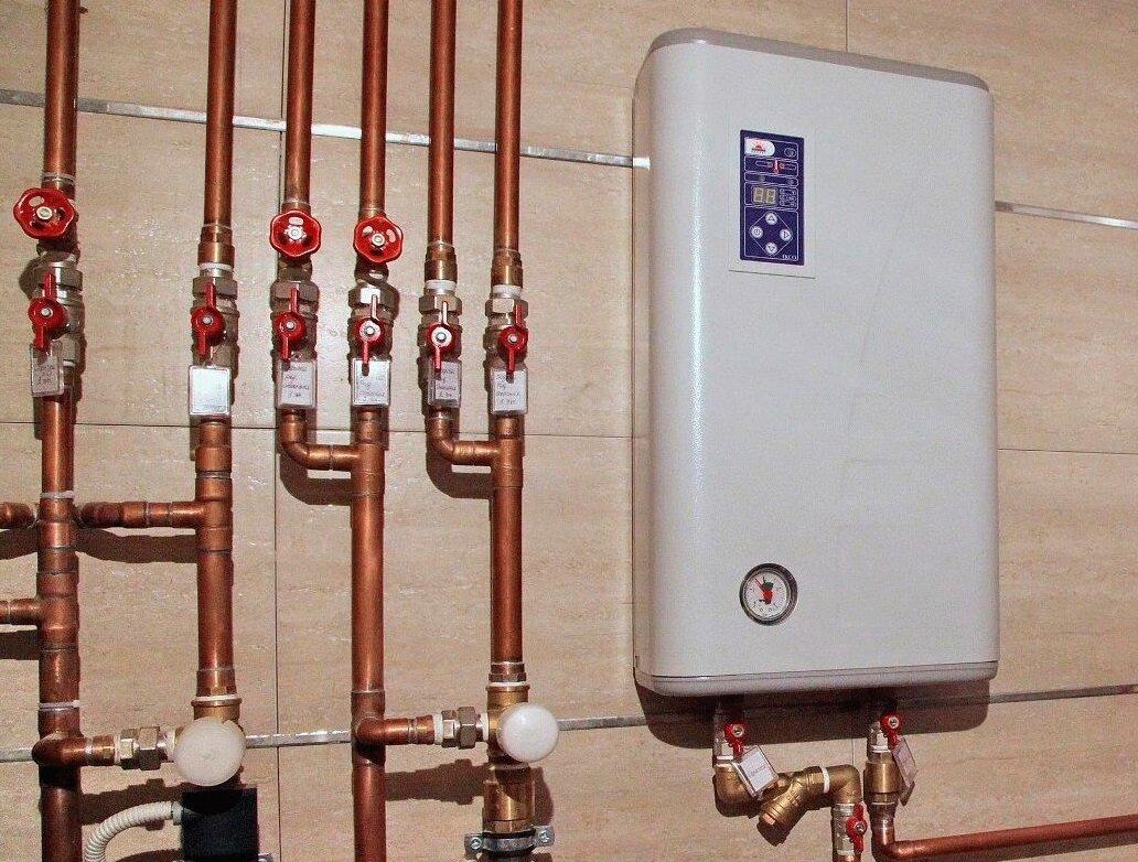 Водяные теплые полы от электрокотла в доме