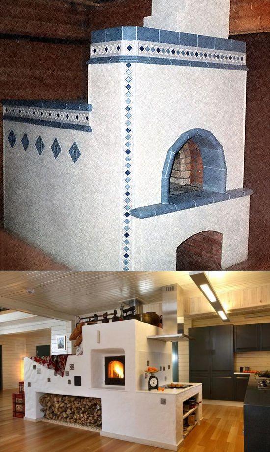 Оптимальная кухня с печкой в частном доме — дизайн и конструктивные моменты