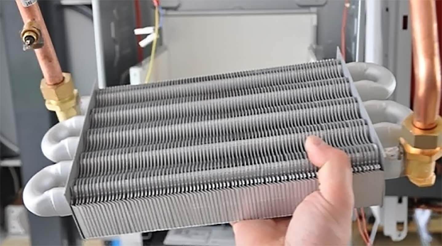 Чем промыть теплообменник газового котла в домашних условиях