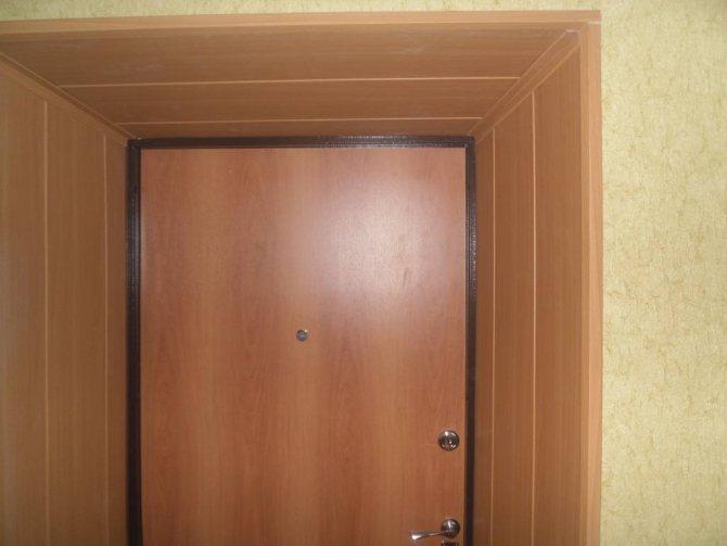 Откосы для входных дверей своими руками