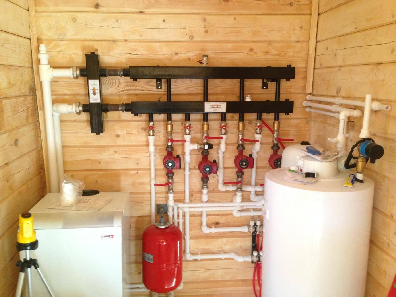 Водяное отопление частного дома виды, схемы, варианты разводки