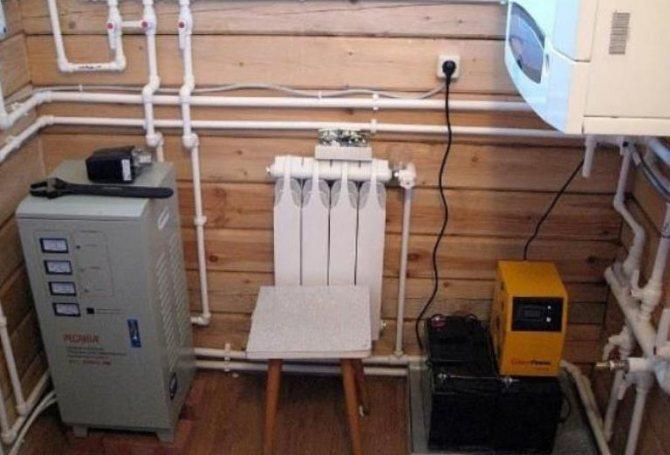 Как выбрать ИБП для газового котла