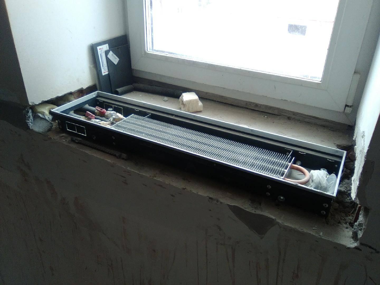 Конвекторы встраиваемые в подоконник - всё про окна