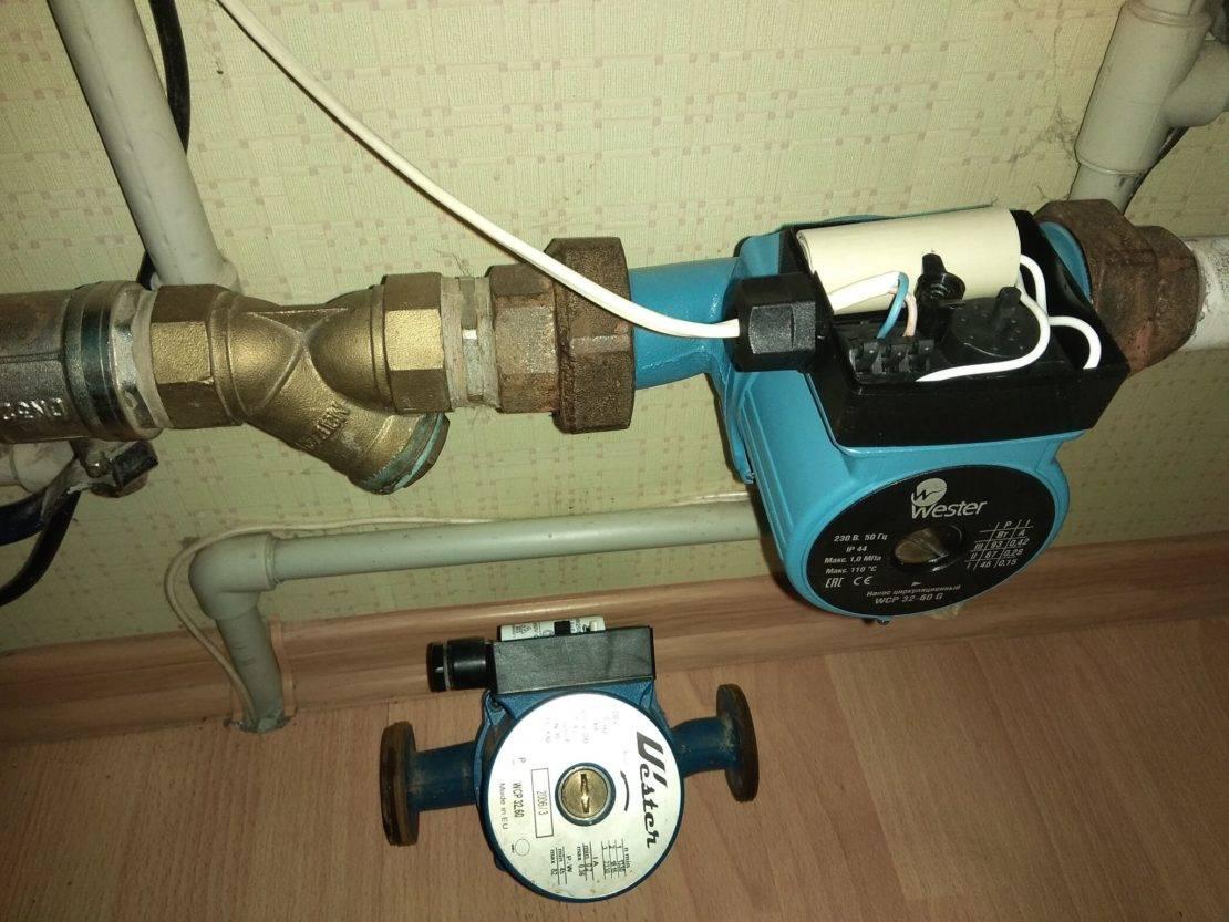 Водяной насос для отопления, схема и инструкция для оборудования