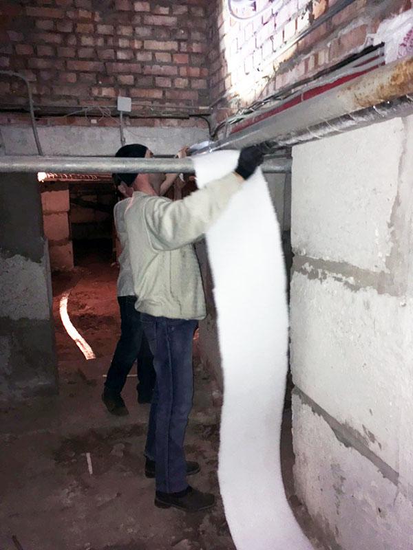 Как утеплить трубы в подвале частного дома? - отопление и водоснабжение дома и квартиры своими руками