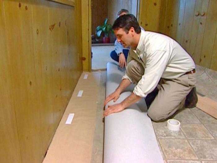 Утепленный линолеум: разновидности и характеристики материала, как и чем утеплить пол под ним
