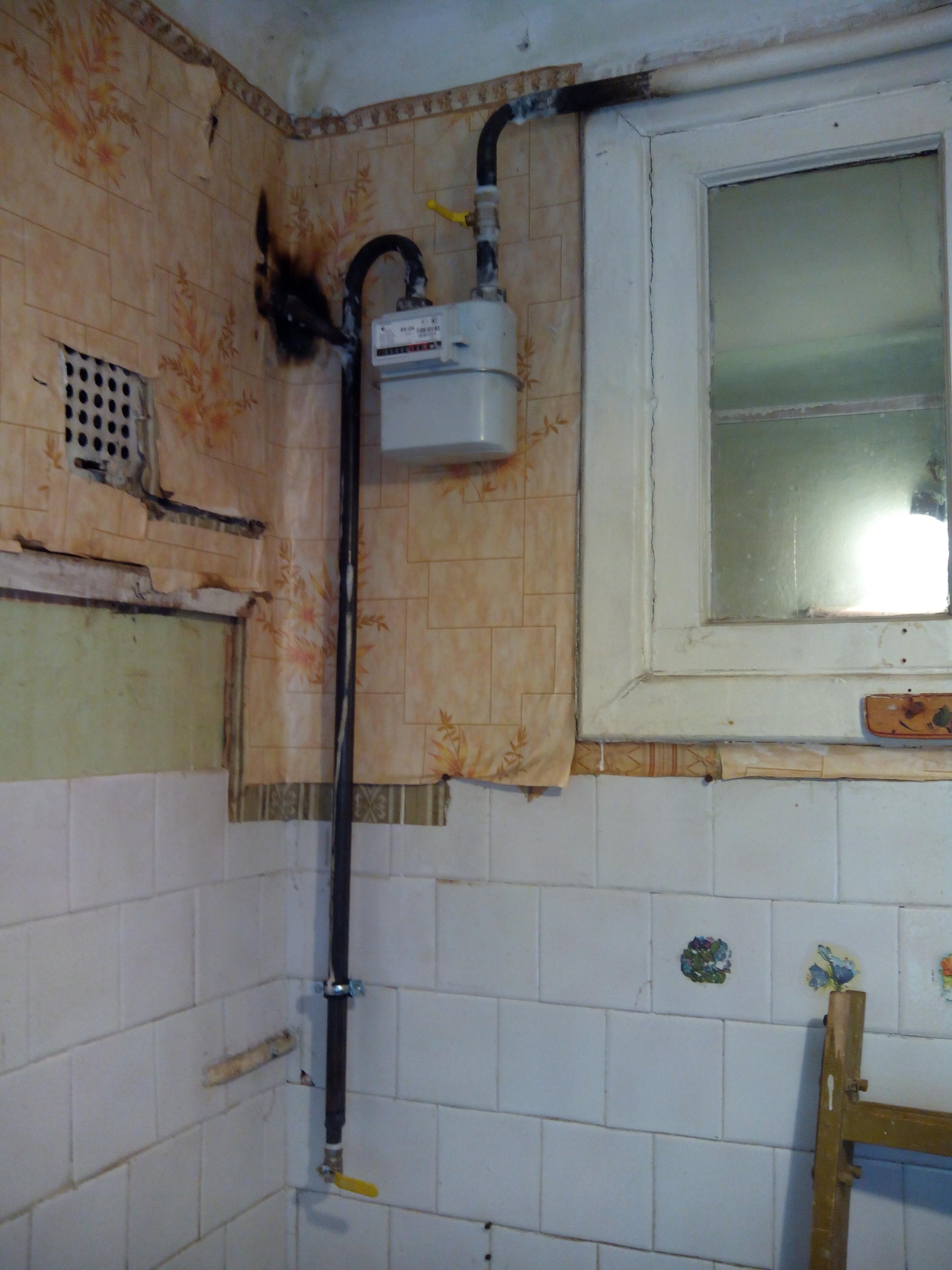 Замена газовой колонки в квартире