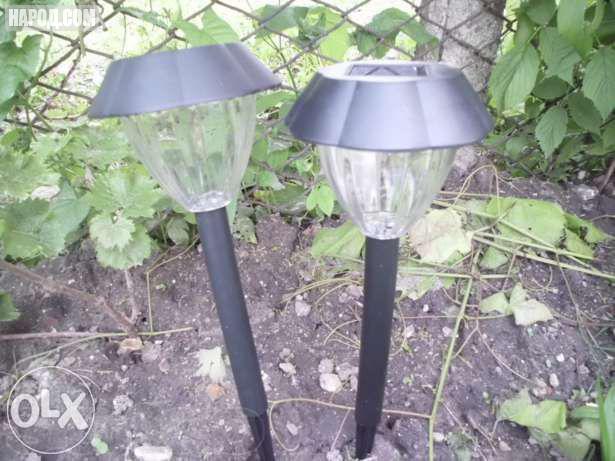 Схема садового светильника на солнечной батарее
