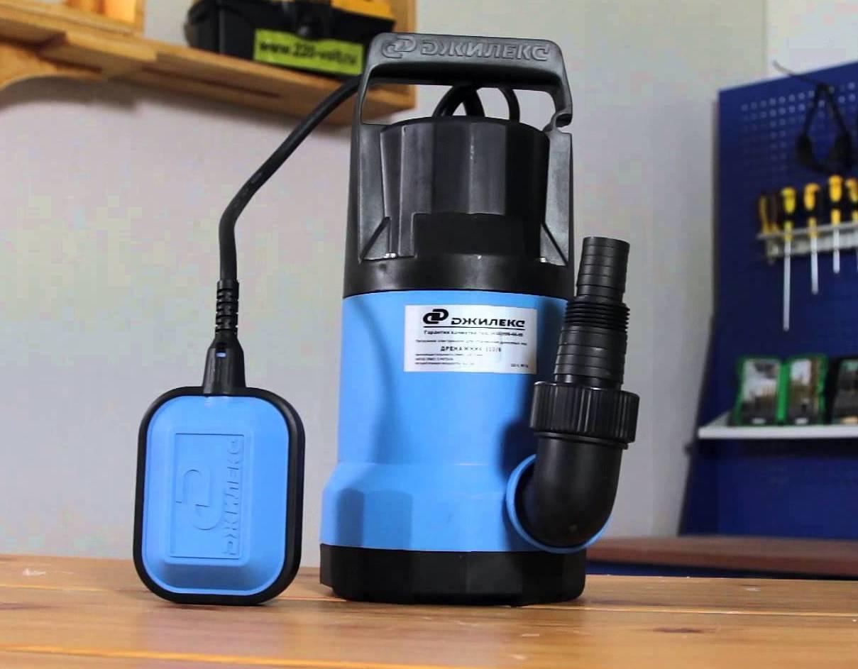Погружной насос для грязной воды: советы по выбору