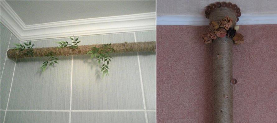 Как спрятать трубы отопления в стенах или полу – оригинальные и проверенные идеи