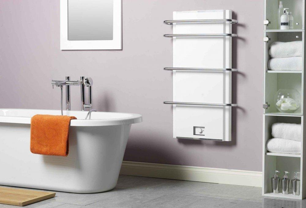 Инфракрасный обогреватель для ванной комнаты: панельный и пленочный