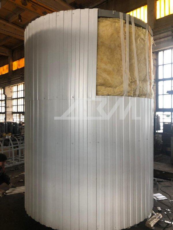 Особенности обогрева стальных сборно-разборных резервуаров flamax
