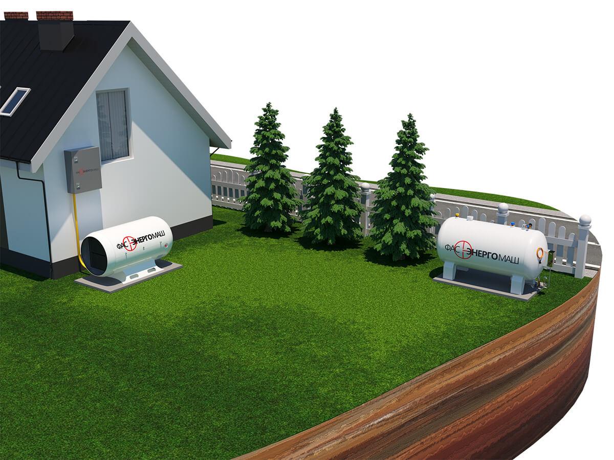 Автономная газификация,автономная газификация под ключ, автономная газификация дома,