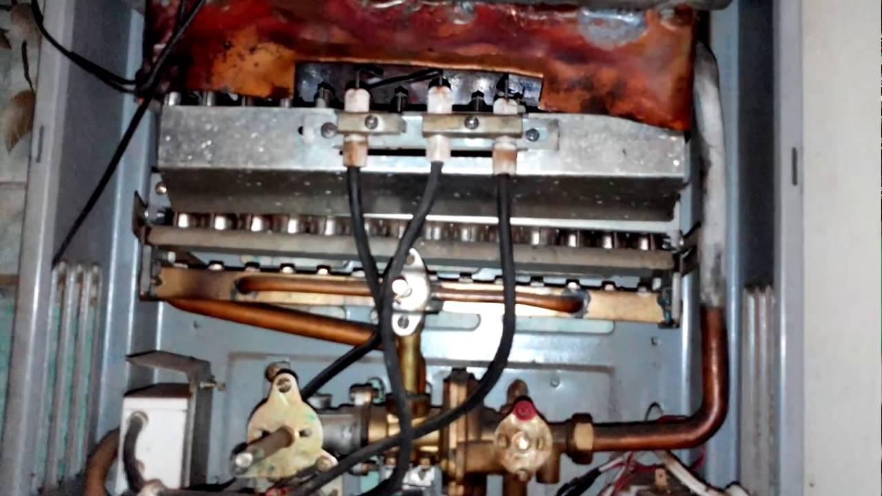 Тухнет фитиль газовой колонки — разбираемся с причинами неисправности оборудования