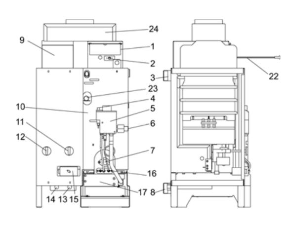 Прессостат для газового котла: устройство, обзор популярных неисправностей и их ремонт