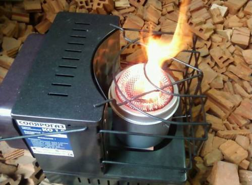 Печь на солярке для обогрева помещений
