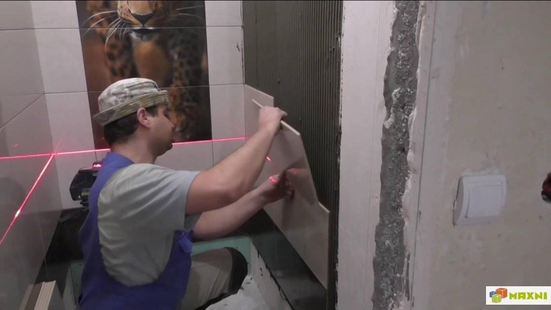 Замена плитки в ванной комнате, реставрация и фото ремонта