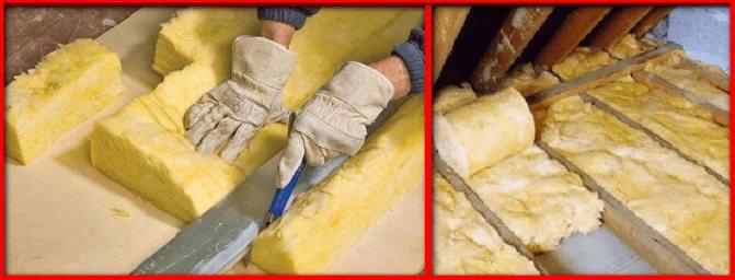 Чем резать минвату в плитах, чем резать минеральную вату