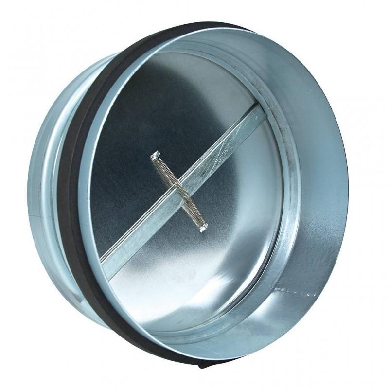 Обратный клапан на вентиляцию: виды, принцип работы, установка