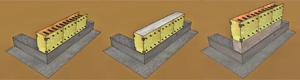Утепление монолитной стены: особенности и выбор материала