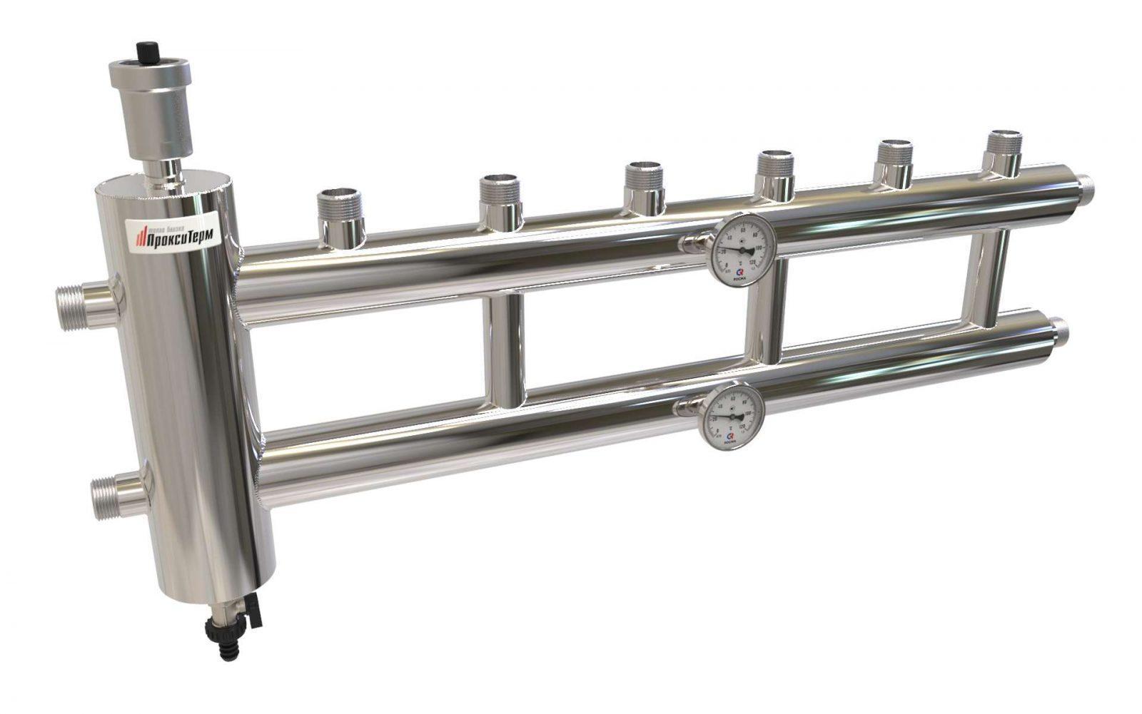 Гидрострелка для отопления – преимущества и принцип работы