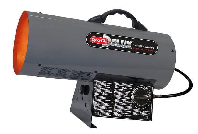 Обогрев гаража с помощью инфракрасного обогревателя