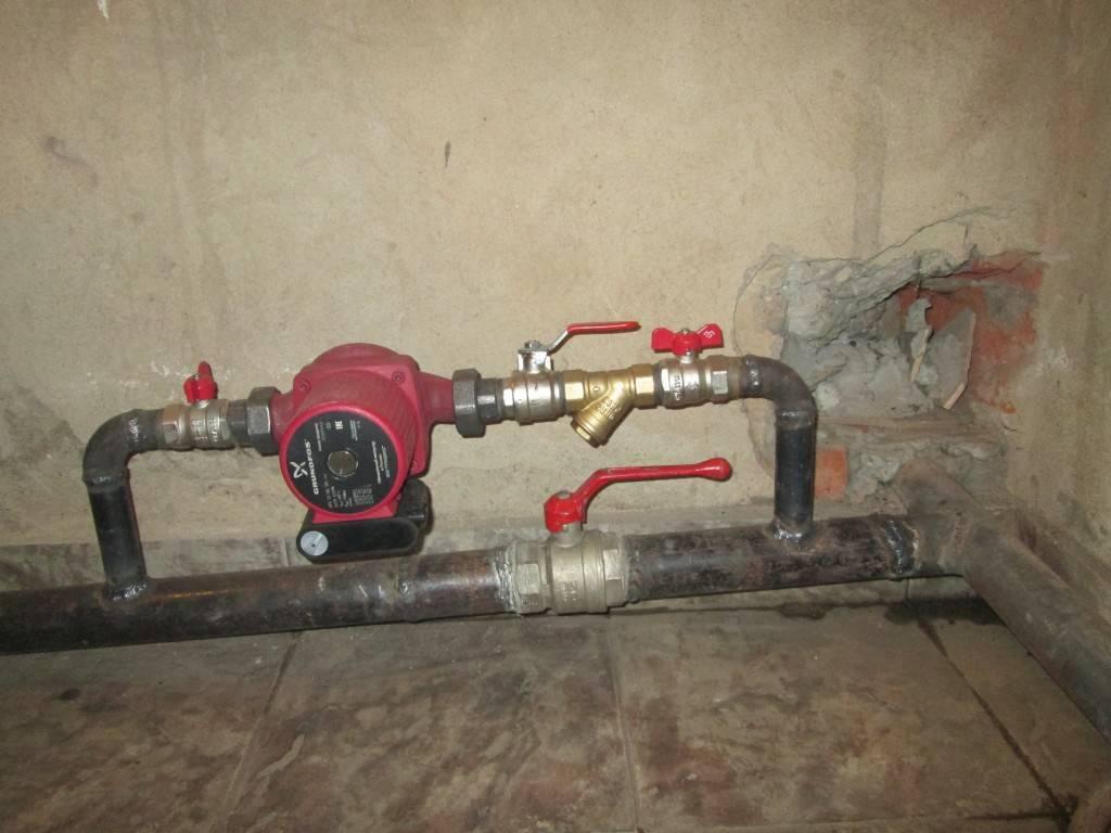 Установка циркуляционного насоса в систему отопления частного дома, как правильно произвести