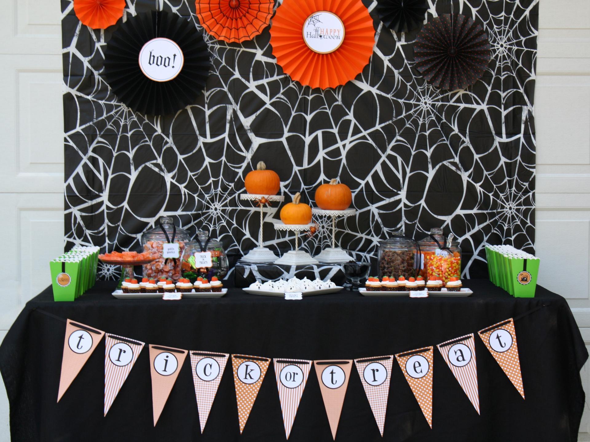 Декор комнат на хэллоуин — новые яркие идеи