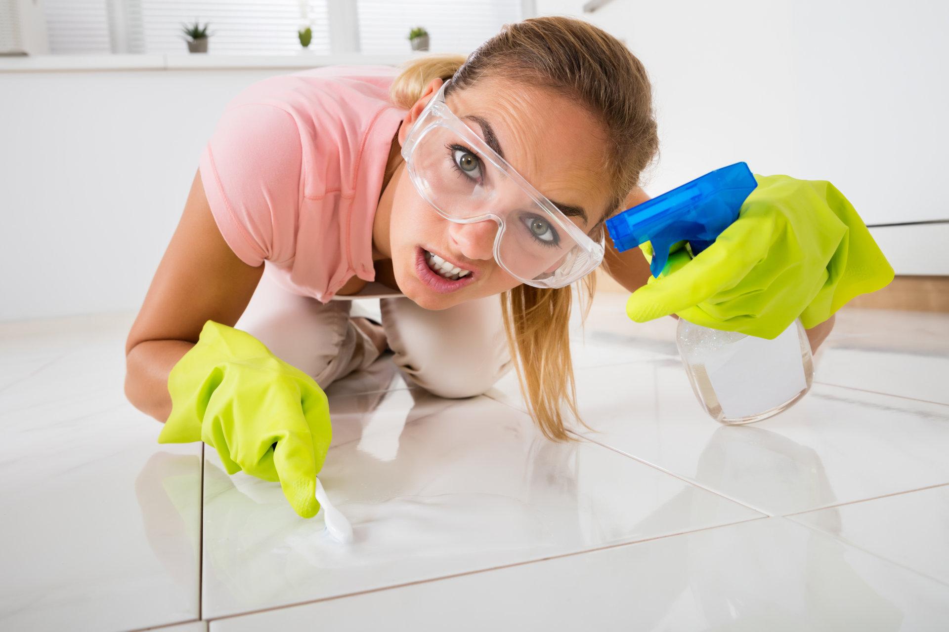 Распространенные ошибки при уборке пыли