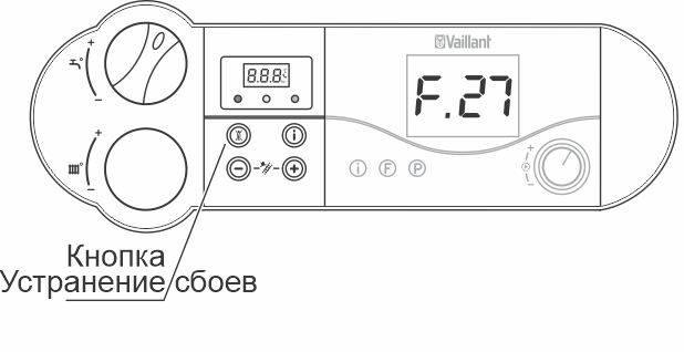 Ремонт газового котла vaillant: расшифровка закодированных нарушений в работе и методы борьбы с проблемами