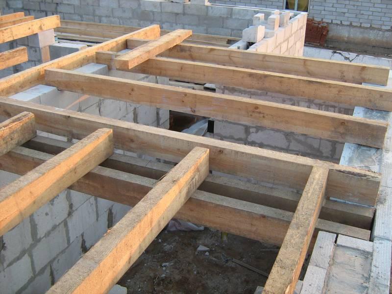 Монолитное перекрытие первого этажа частного дома своими руками