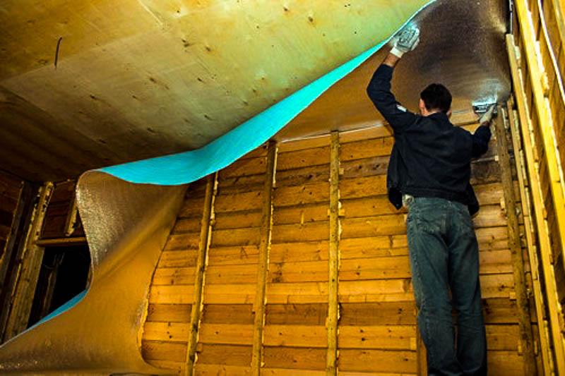 Фольгированный изолон: фото и инструкция применения изолона в утеплении балконов, лоджий и пола