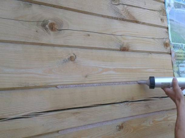 Новейшая методика герметизации сруба – особенности проведения работ