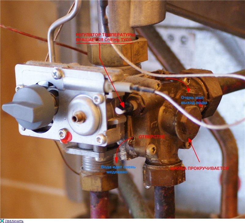 Ошибки и неисправности газовых котлов мора топ
