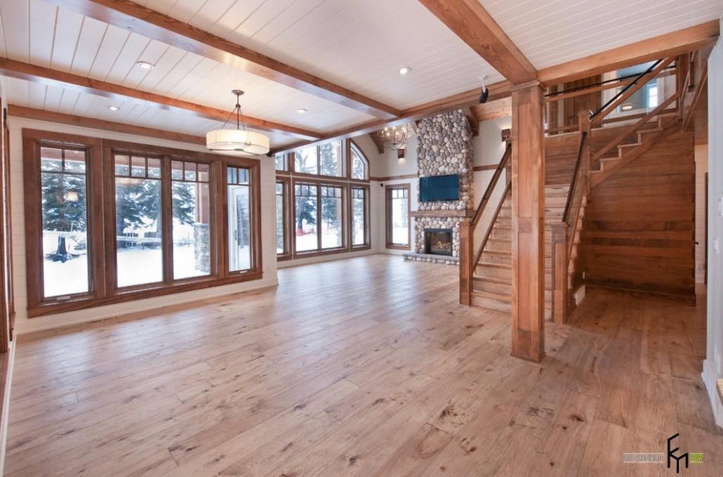 Внутренняя отделка дачного дома: лучшие варианты