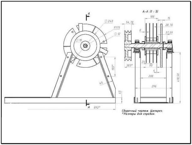 Как сделать измельчитель для веток своими руками: чертежи, схемы, виды конструкции и пошаговая инструкция