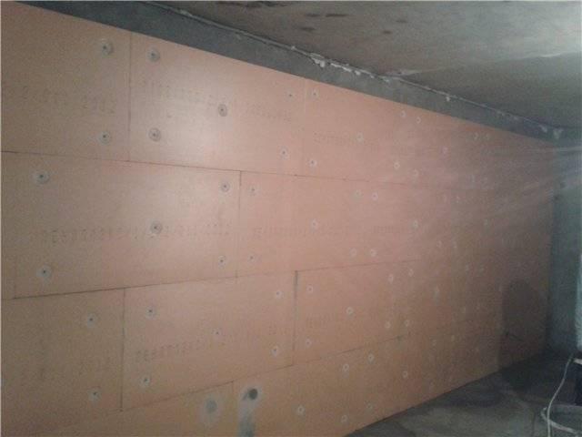 Как производится утепление стен изнутри пенополистиролом своими руками