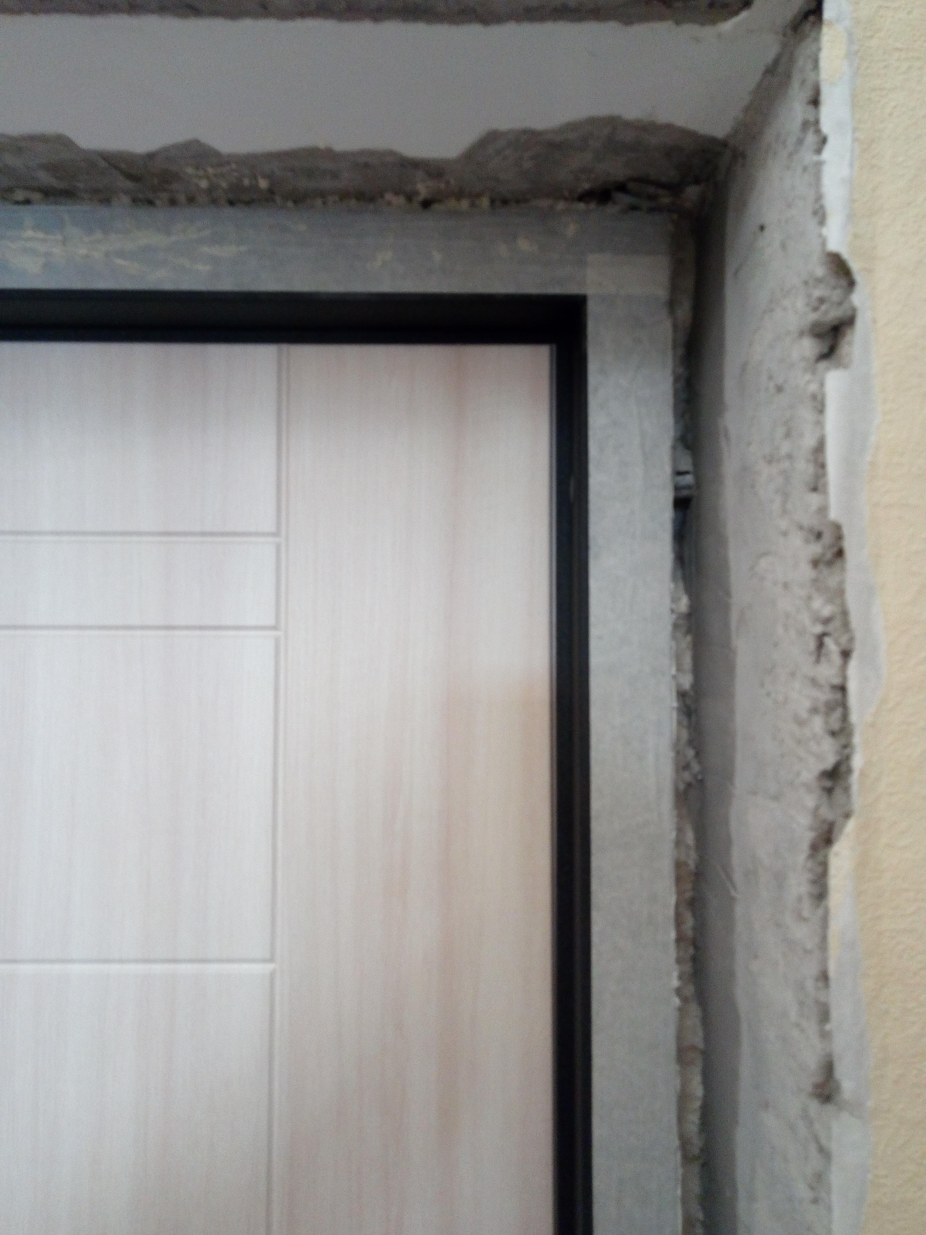 Откосы для входных дверей: выбираем лучший материал | двери дома