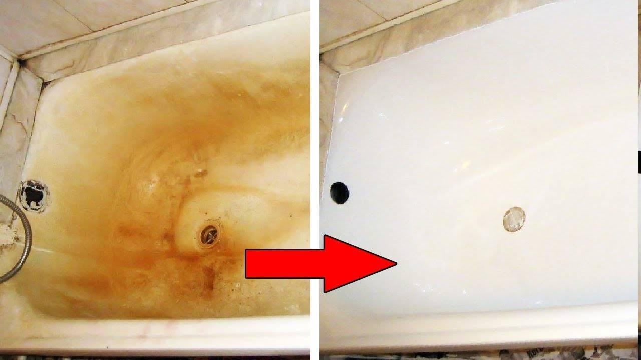 Как очистить душевую кабину от известкового налета в домашних условиях