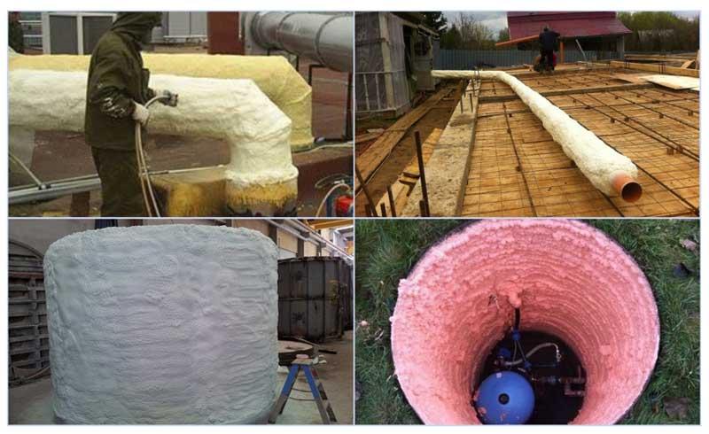 Как своими руками теплоизолировать скважину в частном доме на зиму: обзор способов и материалов