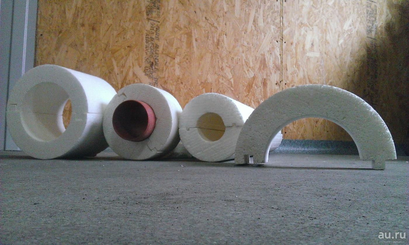 Утепление канализационных труб: скорлупа для теплоизоляции в земле и наружной на улице