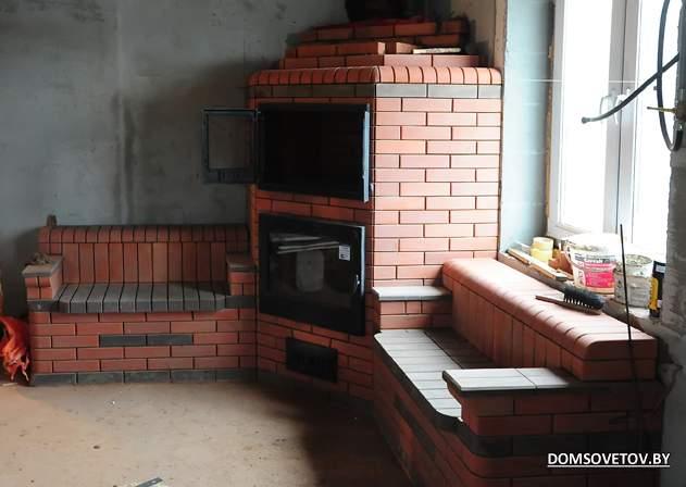 Кирпичная печь шведка своими руками — 85 фото и подробная схема
