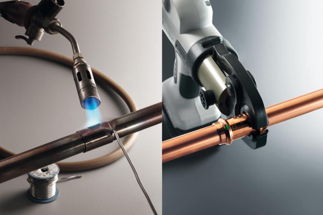Пайка медных труб: припои, аппаратура, соединение