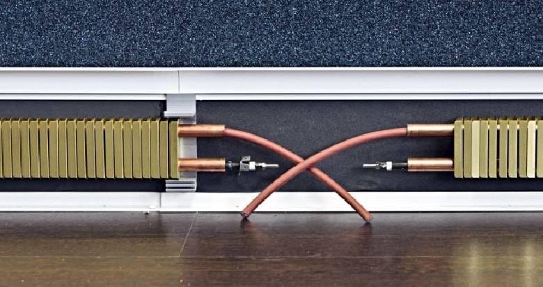Как сделать теплый плинтус электрический своими руками. водяной теплый плинтус
