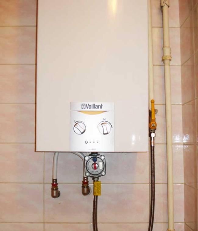 Порядок установки газовой колонки: 8 требований, монтажные правила